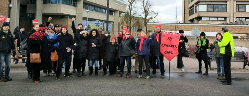 UCU picket line5 March 2018