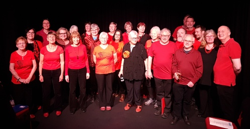 Choir Night at the Western2 March 2019